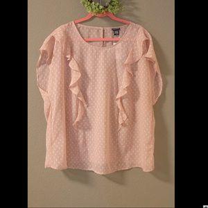 Torrid pink blouse NWT